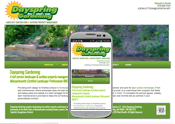 a responsive website for a north shore outdoor property management company