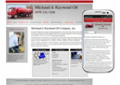 a responsive website for an oil company